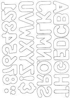 Crafts & Cia: alphabet for application