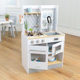 Kidkraft Let S Cook Wooden Play Kitchen Kohls Wooden Play Kitchen Play Kitchen Kids Play Kitchen
