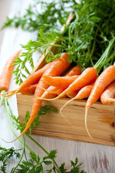 Carrots aren't just for rabbits. They are rich in Vitamin A which protects your skin from sun damage, prevents wrinkles,  fights acne!