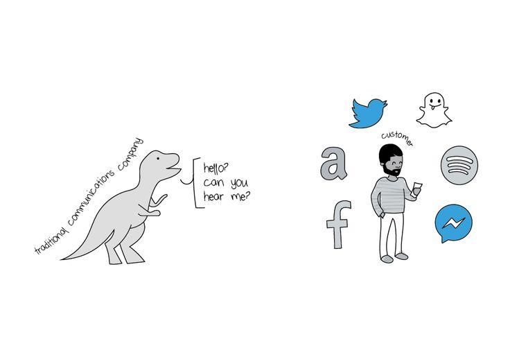 #digitaldisruption through a comical lens... disruption or Infinite opportunities?    https://www.salesforce.com/blog/2016/08/industry-disruption-cartoons.html?d=70130000000tP4L