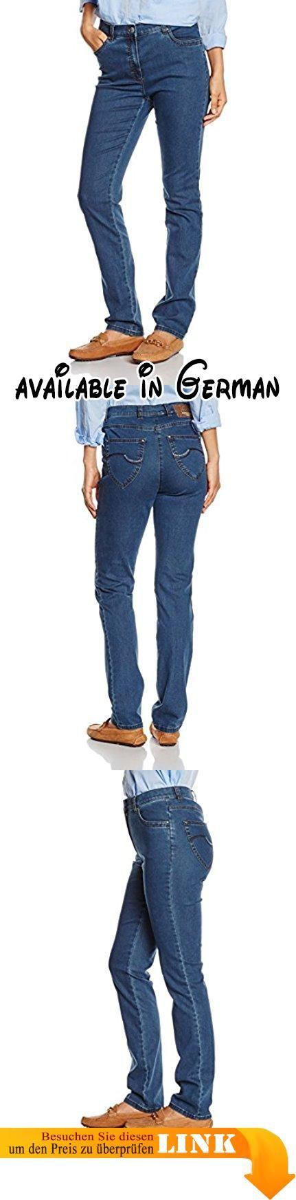 Raphaela by Brax Damen Jeanshose 10-6220 Ina Fame (Super Slim), Blau (Stoned 25), W38/L32 (Herstellergröße: 48). Super Dynamic: Superschlanke Five-Pocket-Jeans in hochelastischer Qualität. Nur eine Hose, die gut sitzt, sieht gut aus. Diese moderne Damenjeans brilliert mit perfekter Passform und höchstem Tragekomfort. Dafür sorgt der Super Dynamic, ein extrem hochelastischer Denim, mit hoher Formstabilität und besten Rücksprungswerten. Diese Qualität zaubert bei dieser