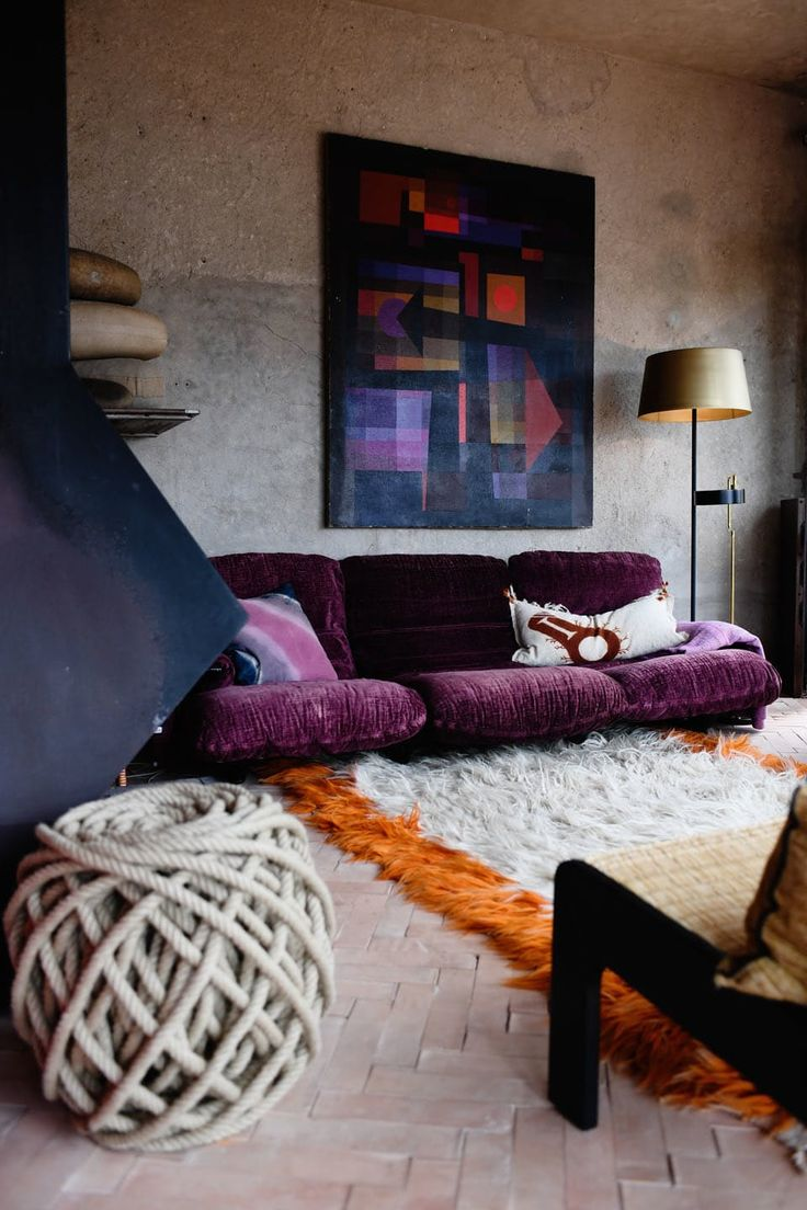 1000 ideas about purple living rooms on pinterest grey - Grey and purple living room furniture ...