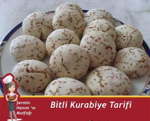 Bitli Kurabiye Tarifi