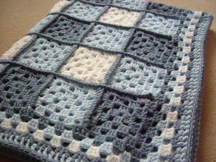 Crochet cobija