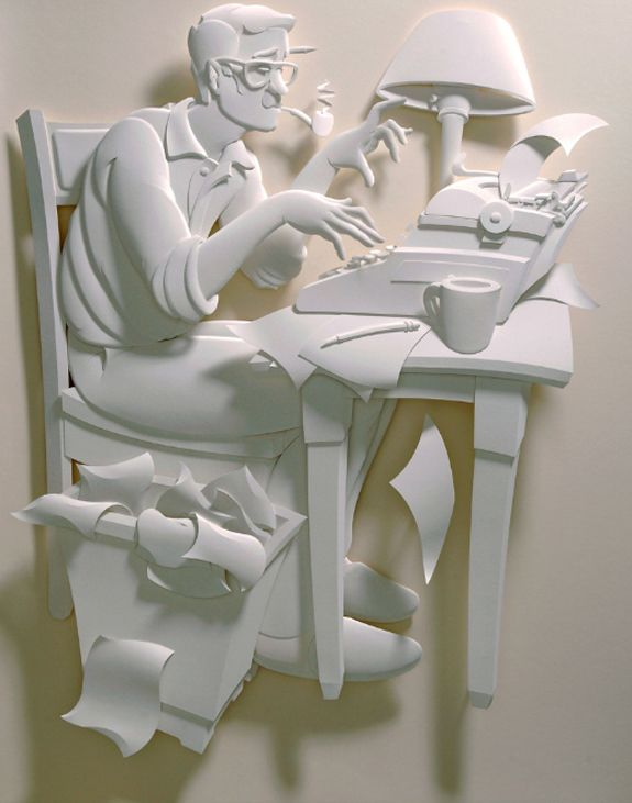 Many agree that Jeff Nishinaka is the world's premier paper sculptor with a prolific career and impressive list of clients. www.jeffnishinaka.com