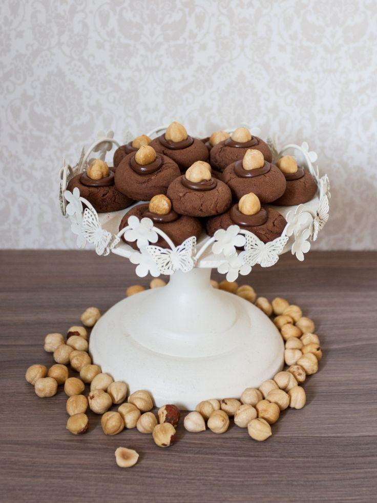 Nutellotti: hazelnut nutella biscuits