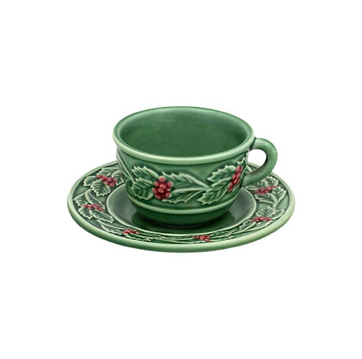 HOLLY tea cup