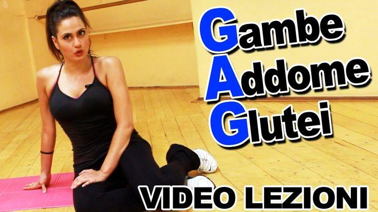 GAG: Esercizi per Gambe Addominali e Glutei - Allenamento per dimagrire ...