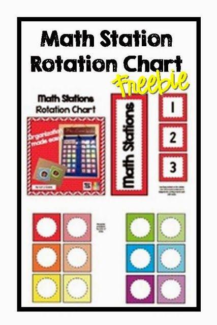 Classroom Rotation Ideas ~ Ideas about center rotation charts on pinterest