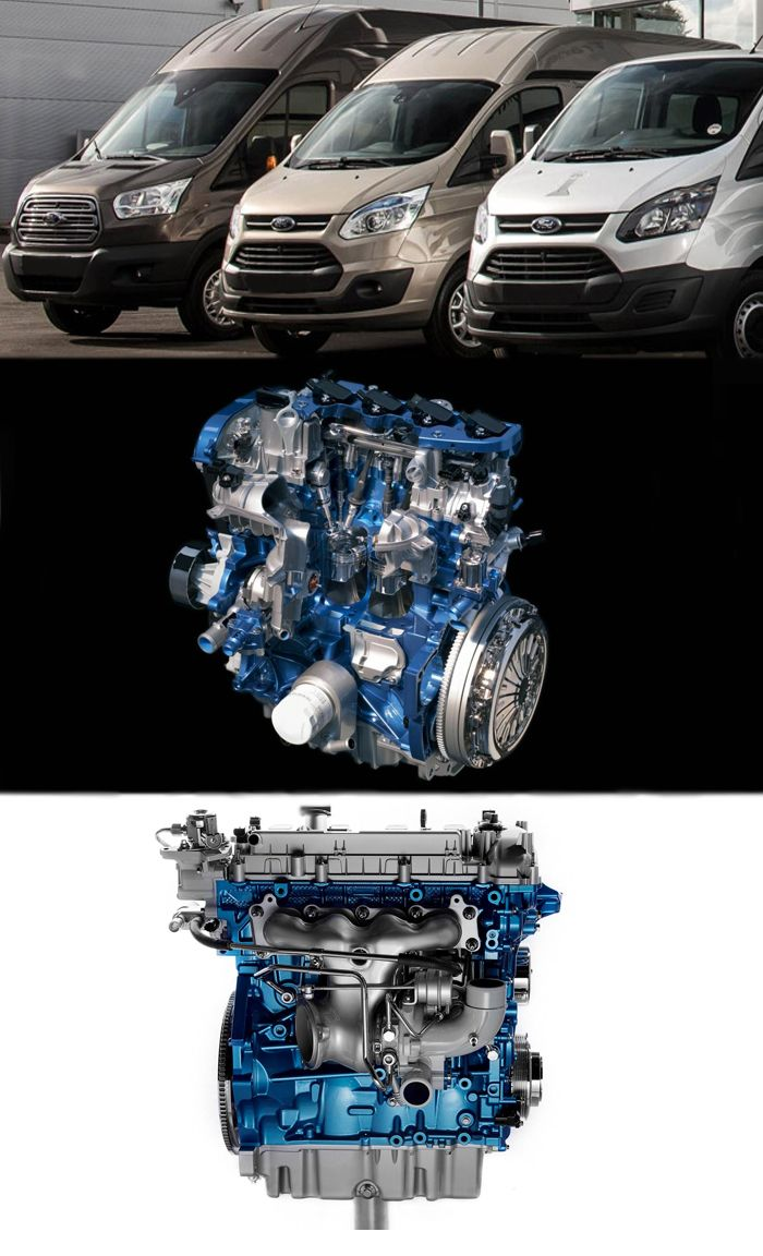 Ford ecoboost engines make the transit more reliable