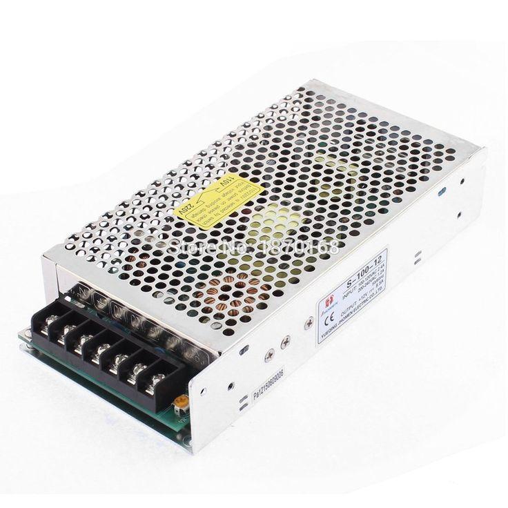 Ac 100 V / 120 V 2.4A beralih Power Supply transformator untuk Strip dipimpin cahaya 100 W #Affiliate