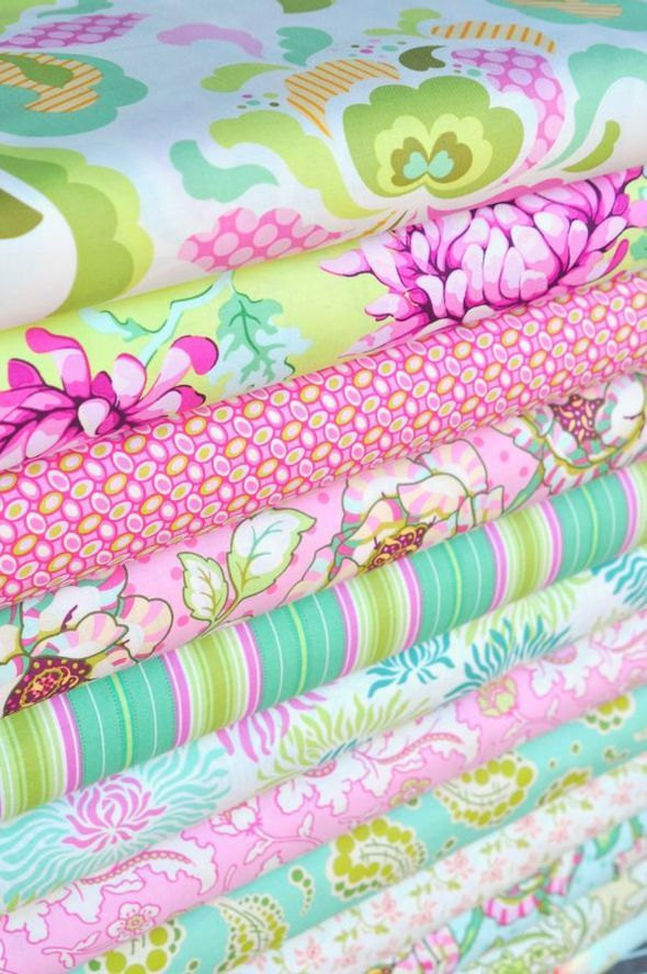 Heather Bailey's fabric is fabulous!