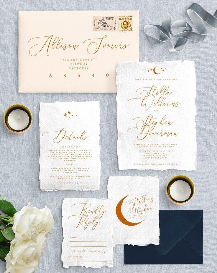 Starry Night Wedding Program Template Printable Space Star Instant Download DIY Editable Ceremony Card Celestial Nebula PDF Luna Templett