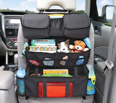 on the go back seat car organizer
