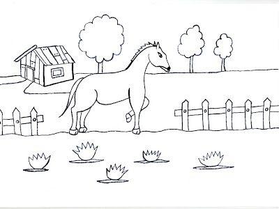 Resultado De Imagen Para Www Dibujos Animados De Caballo En