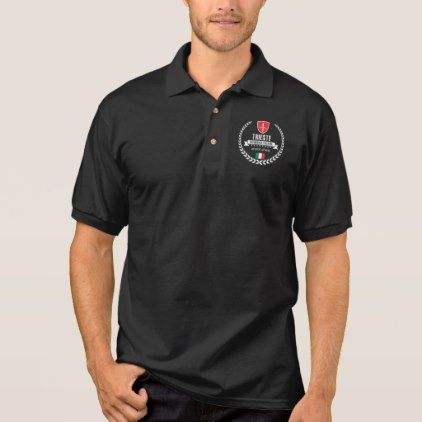 Trieste Polo Shirt - cyo customize create your own #personalize diy
