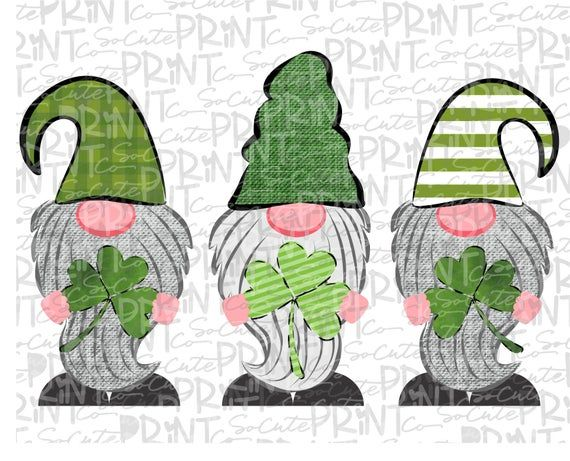 Download St Patricks Day, gnome clipart, unpinchable 3 gnome png ...
