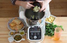 Recette - Tajine de poulet citron confit et olives vertes au Cuisine Companion en pas à pas