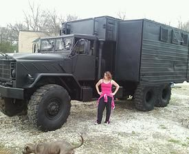 Bug out truck, bobbed deuce and a half, m35a2