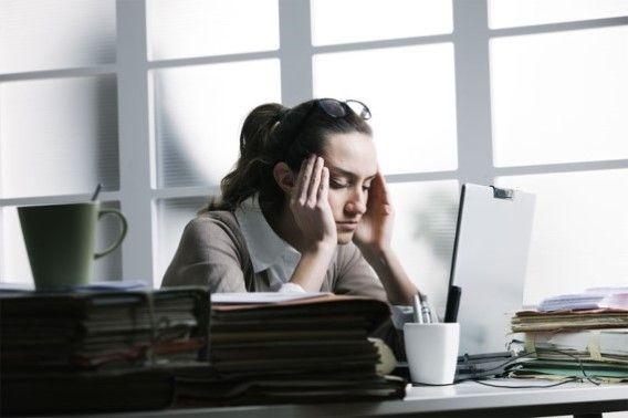 Twee op de drie Belgen ervaren stress op het werk - Het Nieuwsblad