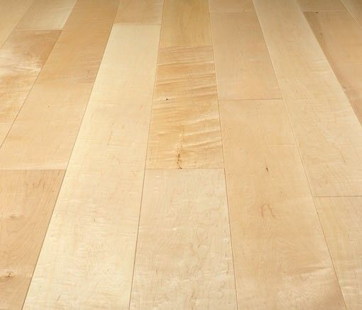 Caledonian Prime Grade Solid Maple Flooring Lacquered 125mm Wide