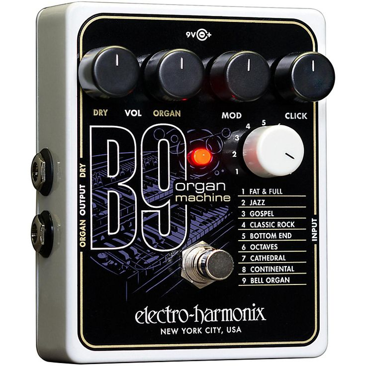 Love this organ sound guitar pedal, totally getting one.