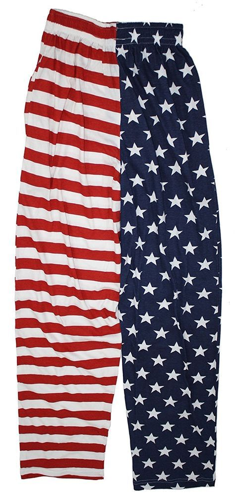 Truman & Sons Men's Novelty Print Lounge Pants 100% Cotton Bottom STARS & STRIPES Small. Printed lounge pants in a variety of funky, cool novelty prints. Reinforced drawstring waist to ensure longevity.   eBay!