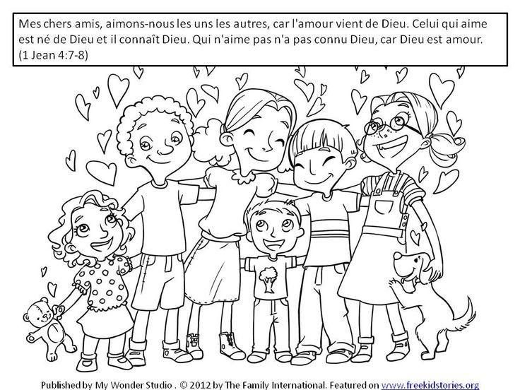 Versets de la Bible sur l'amour pour les enfants 2