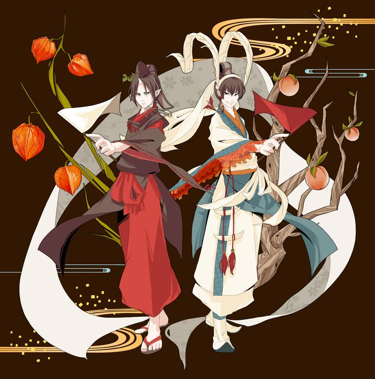 Hoozuki & Hakutaku