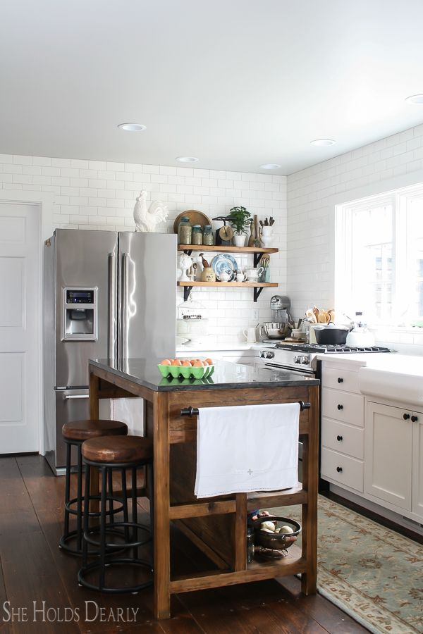 Modern 1800 S Cottage Home Tour Cheap Kitchen Remodel Simple Kitchen Remodel Diy Kitchen Remodel