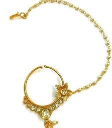Buy India bridal wear,polki bridal nose ring nose-ring online