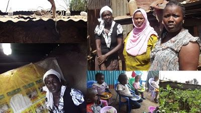N.G.O. Uses Plastic Water Bottles To Illuminate Kiandutu Homes And 'Light Up' The Ghetto Kids.