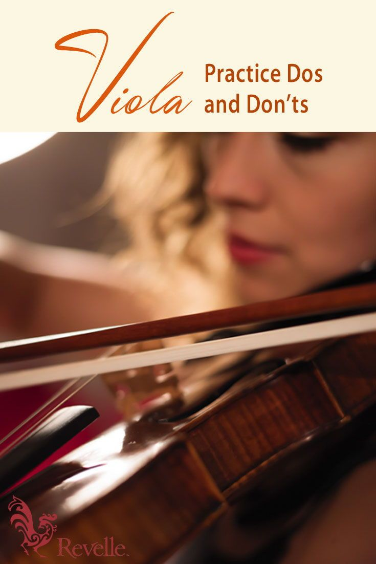 Want to enhance your overall playing technique on the viola? Incorporate these tips to your practice routine. https://www.connollymusic.com/stringovation/viola-practice-dos-and-donts @revellestrings