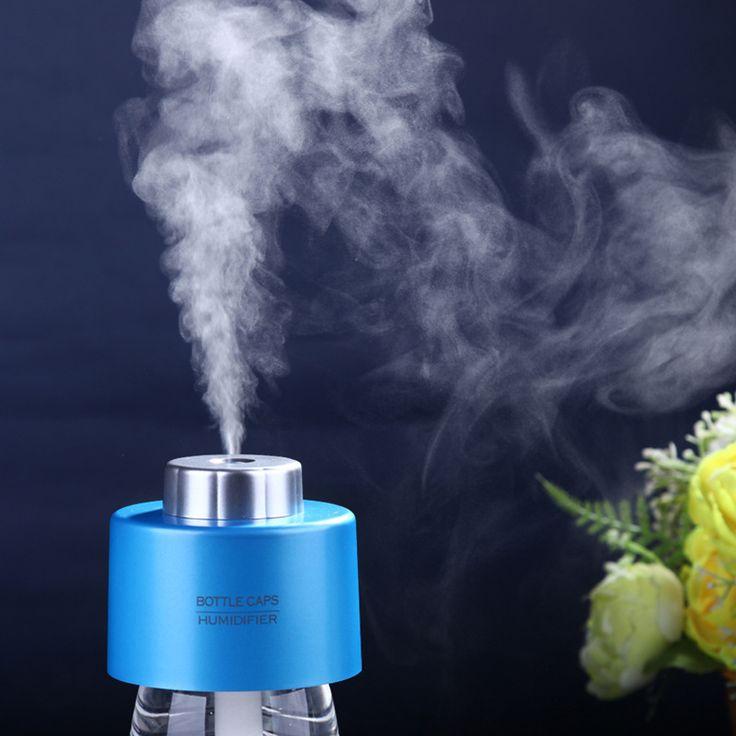 Ätherisches öl diffusor luftbefeuchter aromabottle usb 5 v 1,5 watt ultraschall-nebel-hersteller foger air vernebler aroma diffusor aromatherapie