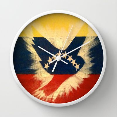 ThePeaceBombs - Venezuela Wall Clock by ThePeaceBombers - $30.00ThePeaceBombs - Good day for Peace Wall Clock by ThePeaceBombers - $30.00 #peace #decor #clock #home #trendy #thepeacebomb#shopping