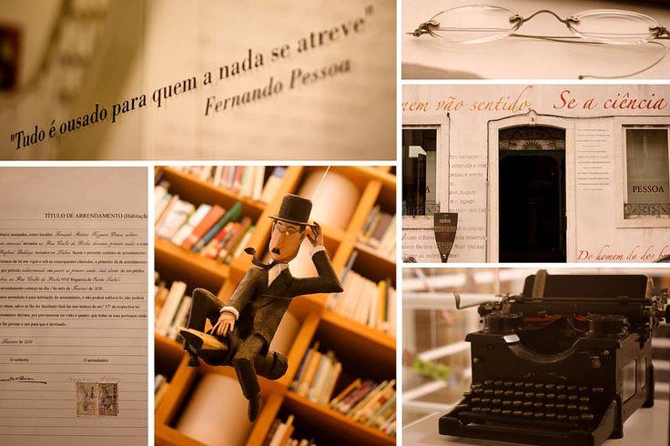 Casa Fernando Pessoa/ DEZ lugares marcantes na vida de Fernando Pessoa