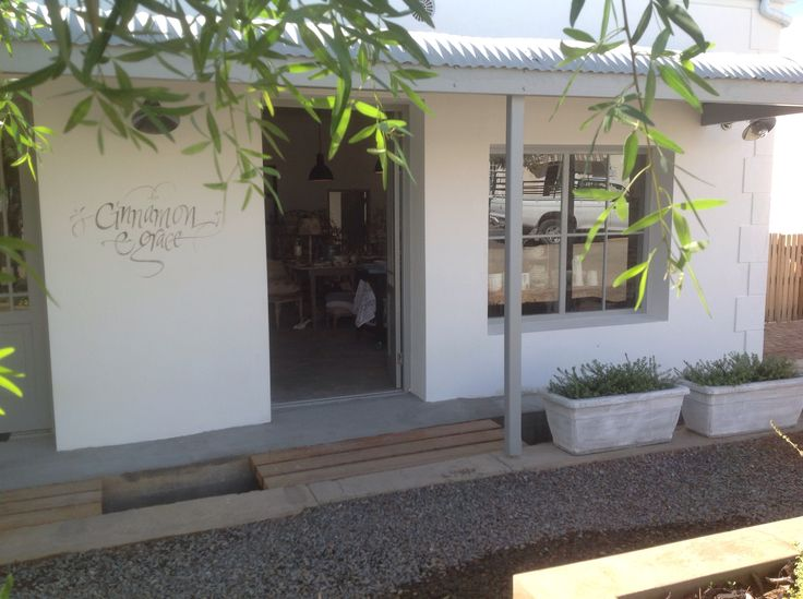 Cinnamon & Grace beautiful store in Prince Albert Western Cape.