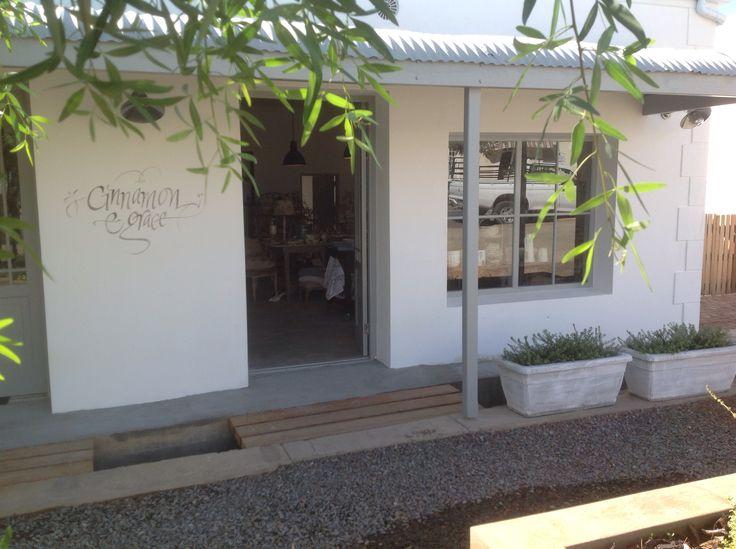 Cinnamon & Grace beautiful store in Prince Albert Western Cape.