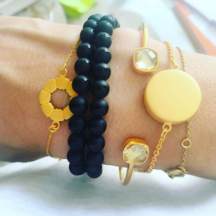 Mix of Cahana bracelets