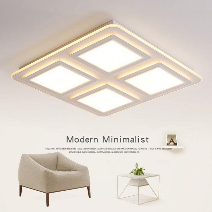 Moderne Minimalistische Woonkamer Dimmen Lampen Plafond Led With