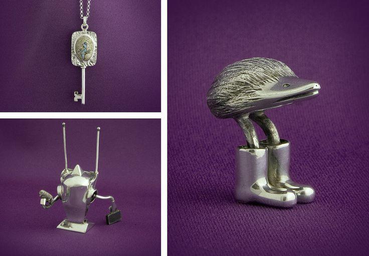 DavidSwinson---goldsmith/silversmith. #uxbridgestudiotour