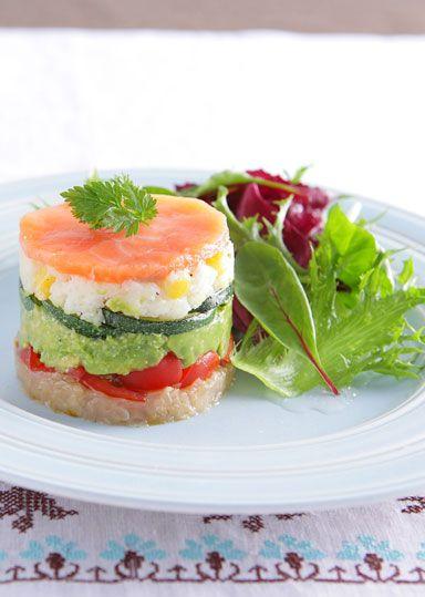 カラフルミルフィーユ サラダ仕立て のレシピ・作り方 │ABCクッキングスタジオのレシピ | 料理教室・スクールならABCクッキングスタジオ