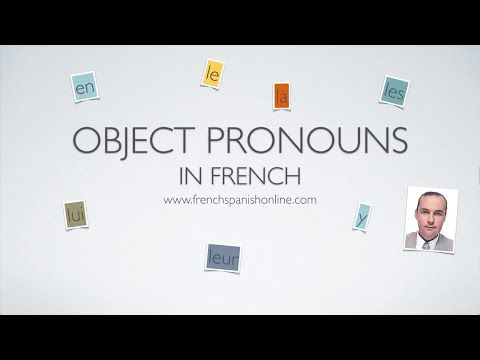 French objects pronouns 2