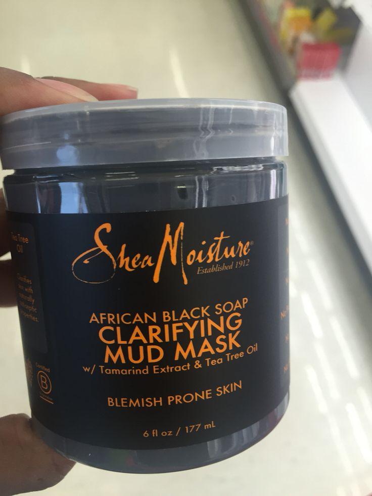 New Shea Moisture face mask!