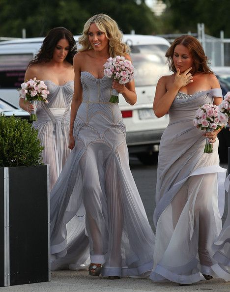 We absolutely adored these bridesmaids dresses. Sometimes brides tend to forget about this area, and it does ultimately affect the look of your theme, photo's etc. Be careful when choosing your look, and round off every element of it...even the bridesmaids dresses :-)