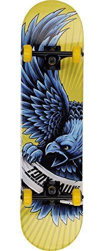 Tony Hawk Popsicle Flying Banner Skateboard, Yellow, 31'' by Tony Hawk. Tony Hawk Popsicle Flying Banner Skateboard, Yellow, 31''.