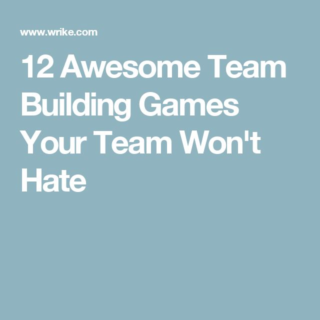 Best 25+ Team Building Exercises ideas on Pinterest   Fun team ...
