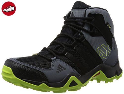 adidas Herren AX2 Mid Gtx Trekking-& Wanderstiefel, Schwarz (Core Black/Semi Solar Slime/Onix), 44 2/3 EU - Adidas schuhe (*Partner-Link)