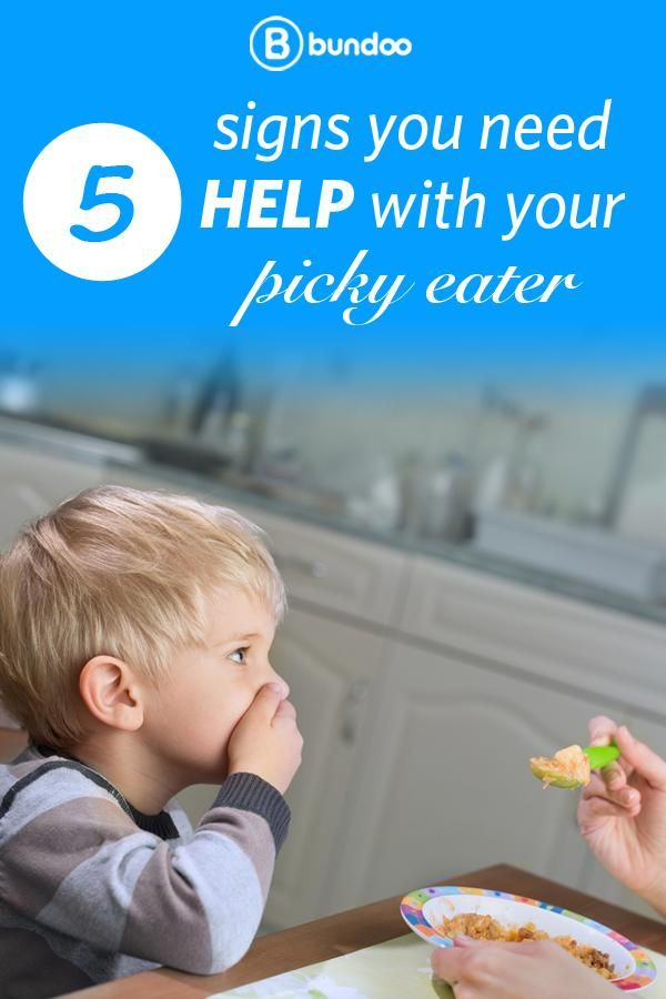 If your picky toddler shows any of these 5 signs, consult your pediatrician.