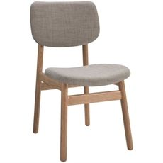 Looking for dining chairs that not just look great but are actually comfortable? We love the Larsson Dining Chair from Freedom Furniture and Homewares at Crossroads Homemaker Centre